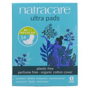 Natracare Ultra Regular Pad With Wings - 14
